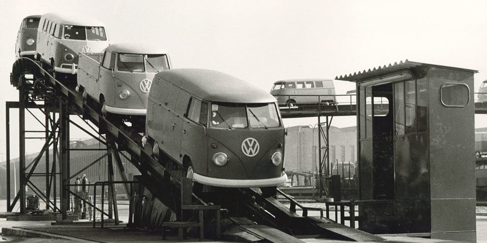 Les 70 ans du Volkswagen Combi