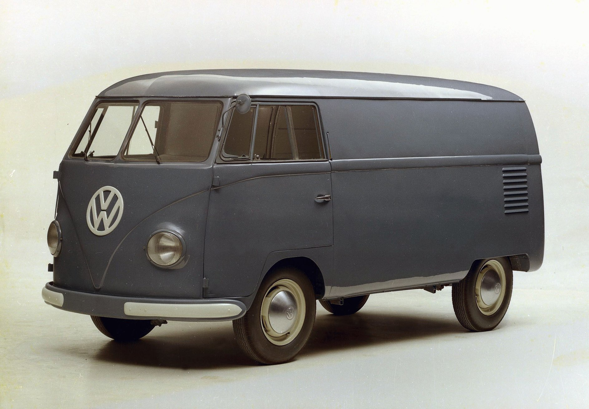 Le VW Combi à sa sortie en 1950