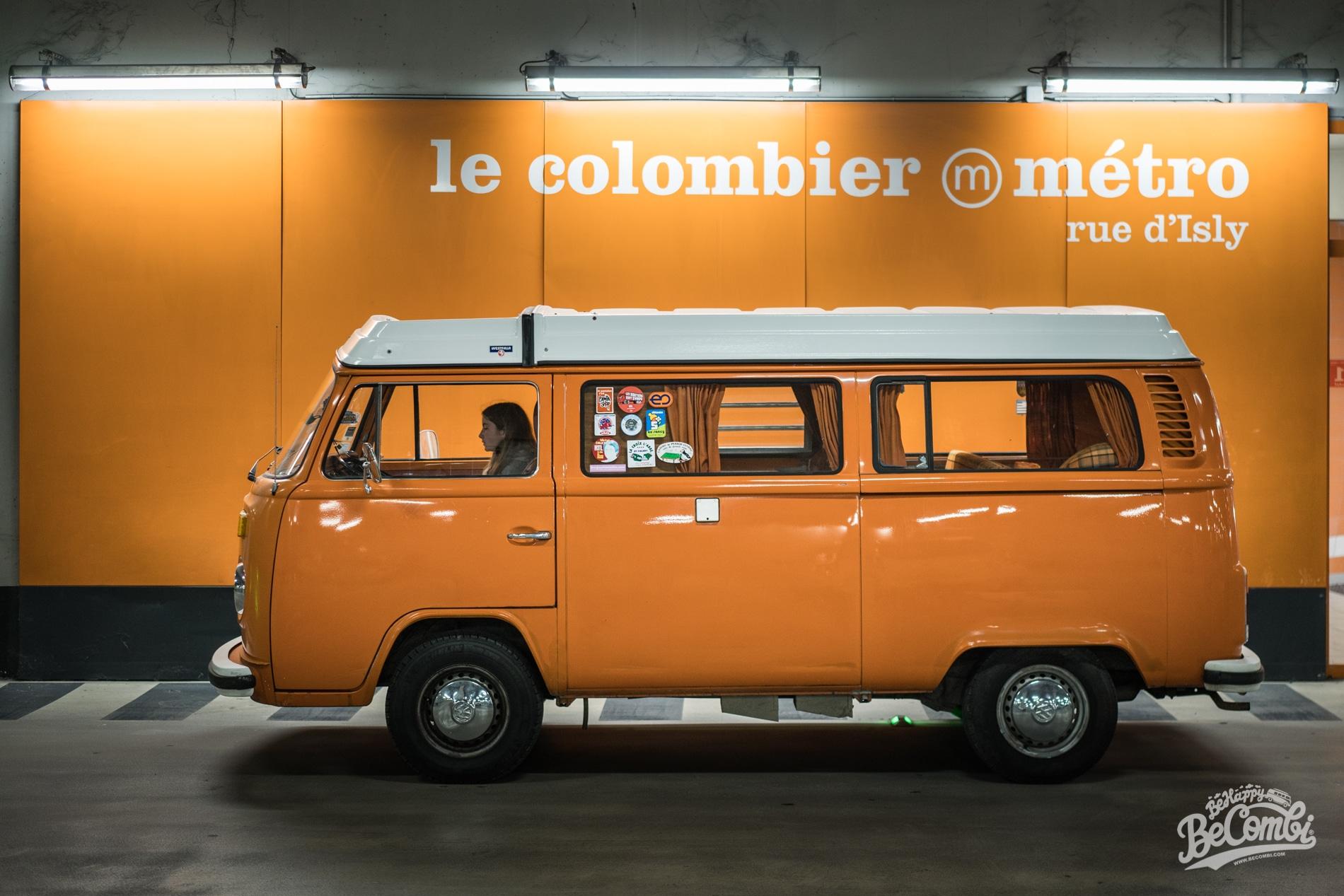Sortie du Garage - VW Combi - BeCombi