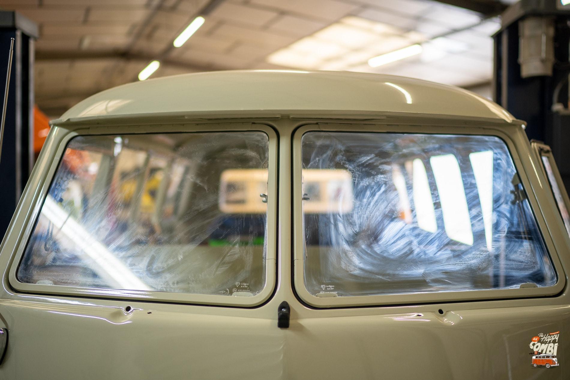 Fenêtres Safari - VW Split Screen - BeCombi