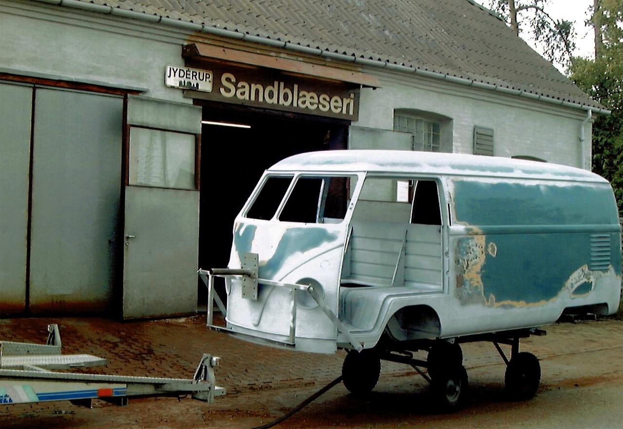 Sofie le plus vieux VW Combi fete ses 70 ans BeCombi