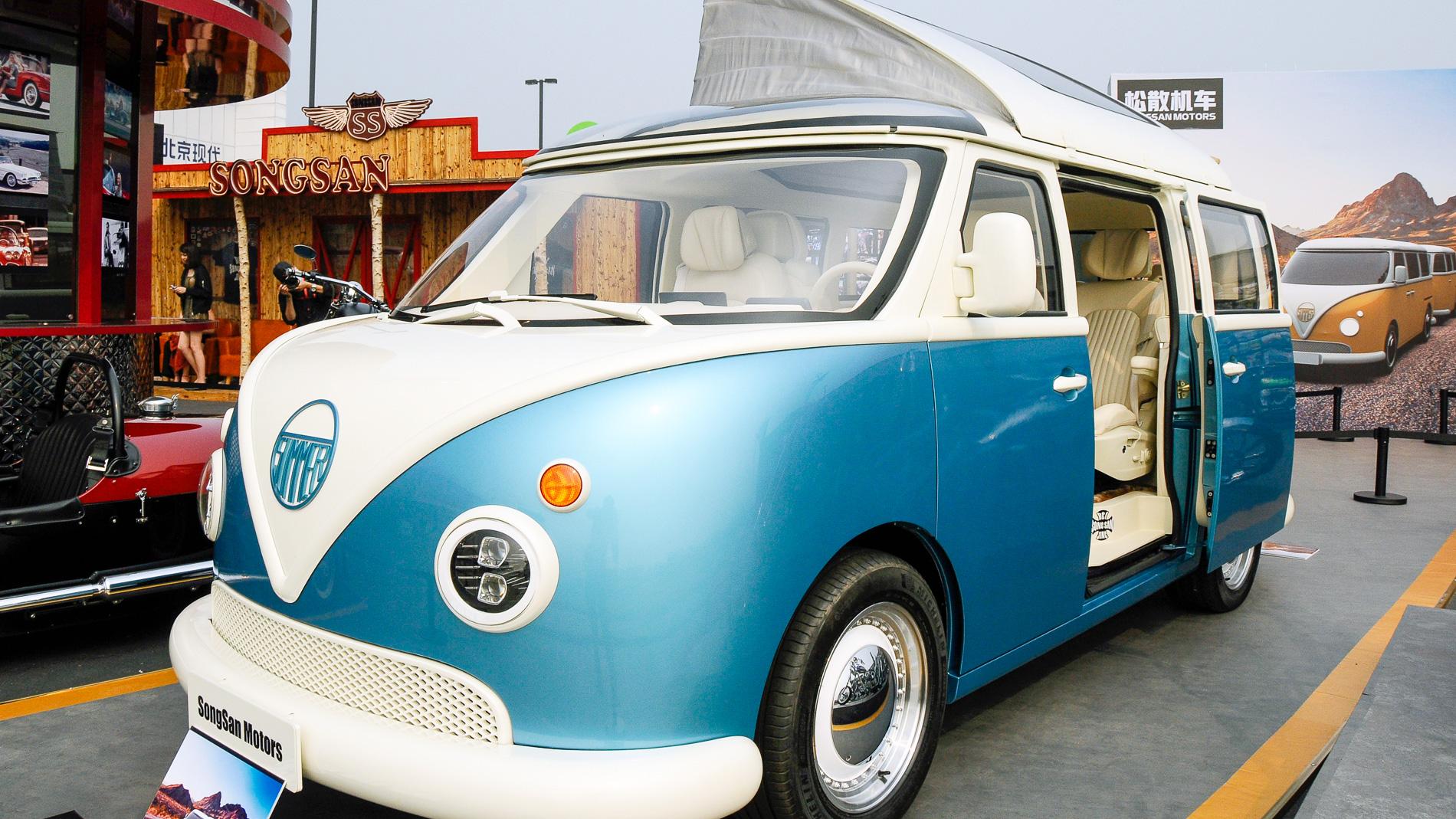 Songsan Summer - (mauvaise) copie chinoise du VW Combi