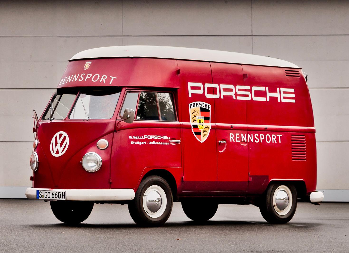 VW Split High Roof assistance Porsche - BeCombi