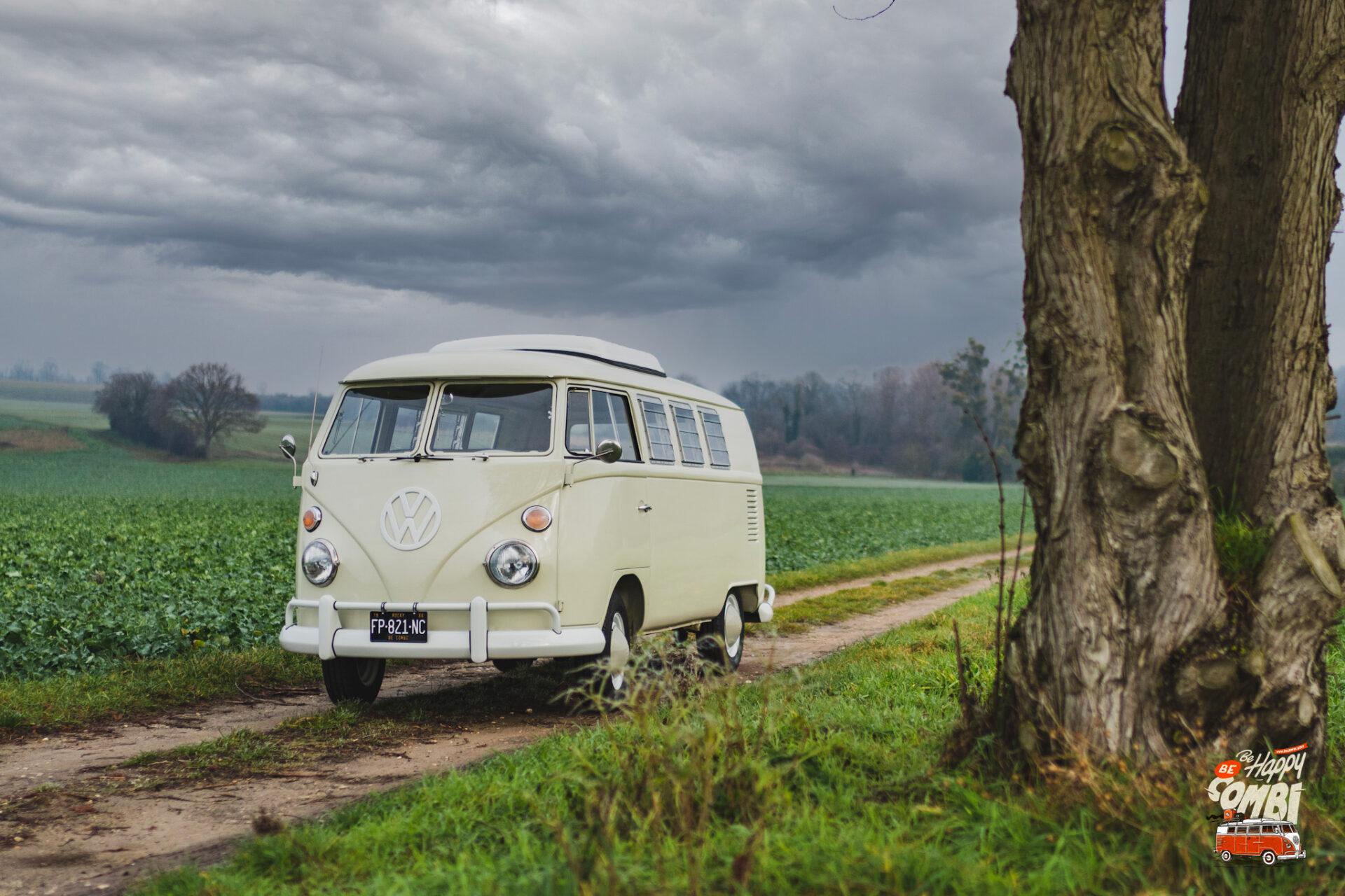 Sortie dans le Vexin avec Rocky - VW Camper Westfalia SO42 - BeCombi