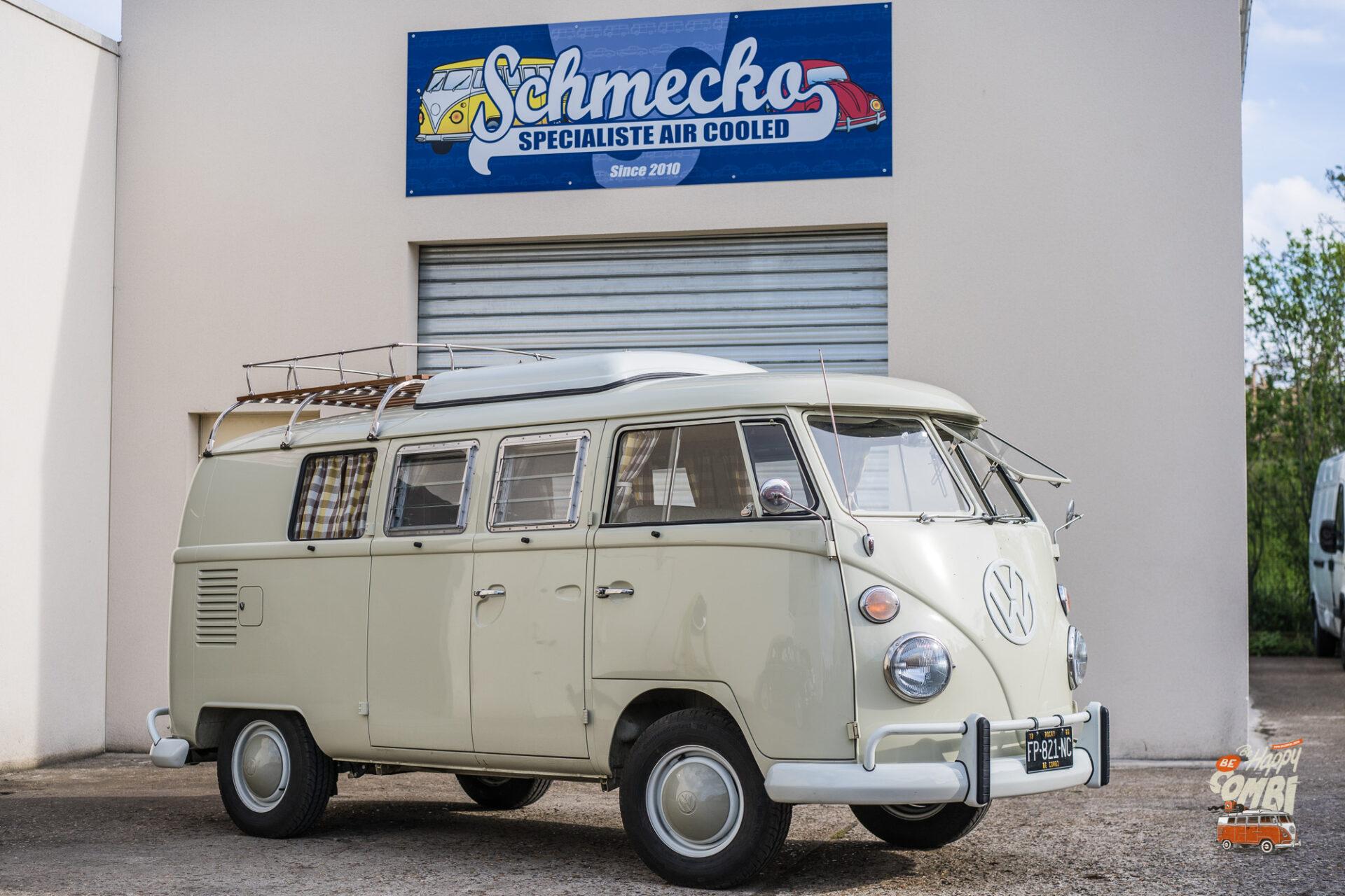 Fin de la restauration de Rocky chez Schmecko - BeCombi