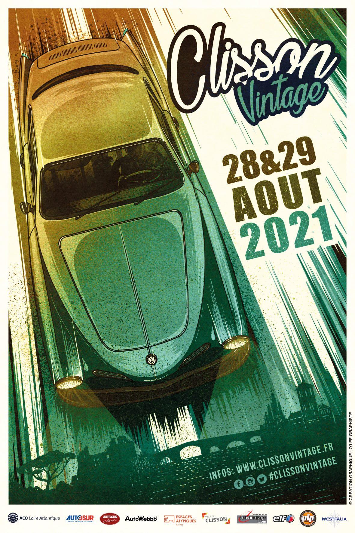 Clisson Vintage #3 - Affiche officielle - BeCombi